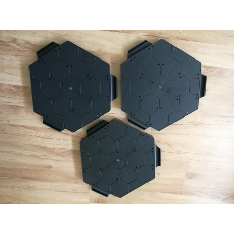 Kültéri taposó 415 x 396  x 35 mm (9db/m²)
